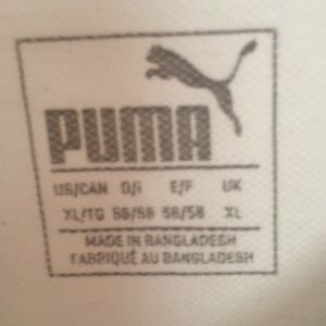 Puma Shirts - Polo White Puma Dry